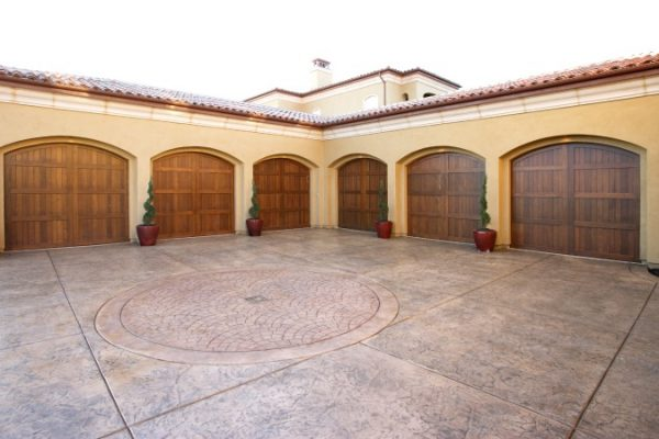The Concrete Staining Services For Garage